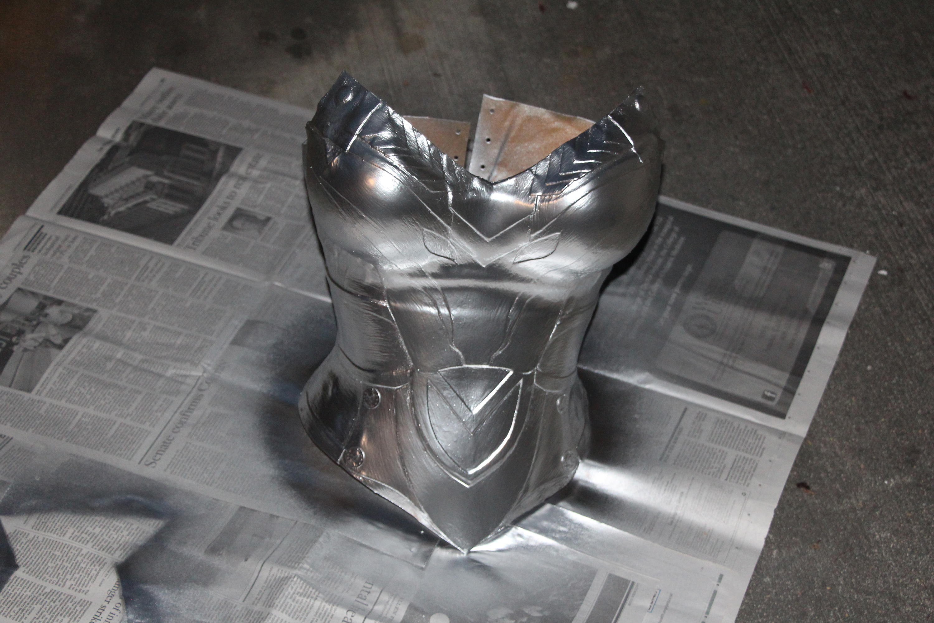 Tutorial Making Armor Breast Plates With Worbla